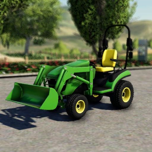Photo of FS19 – John Deere 1025R Traktör
