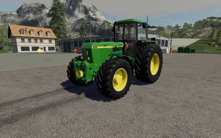 Photo of FS19 – John Deere 4×50