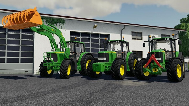 Photo of FS19 – John Deere 6×20 Serisi V1.1