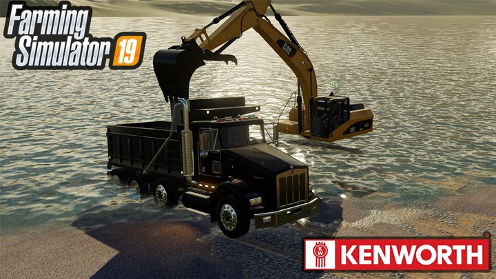 Photo of FS19 – Kenworth T800 V1.1