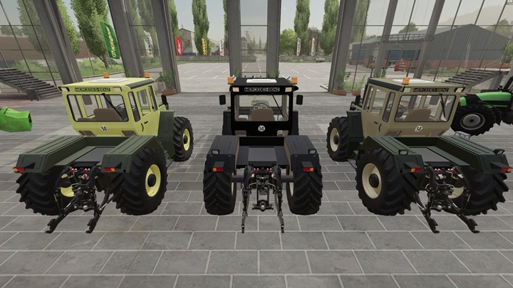 Photo of FS19 – Mercedes-Benz Trac 1300 – 1800 Paketi V1.7