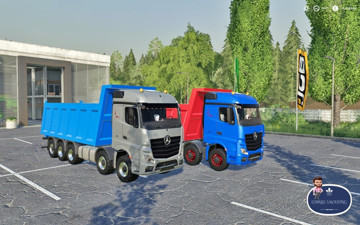 Photo of FS19 – Mercedes Actros Damperli Kamyon Modu V1.0