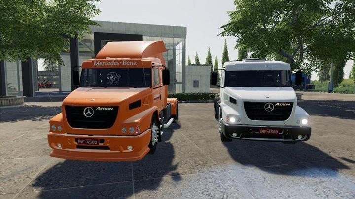 Photo of FS19 – Mercedes-Benz Atron 1635