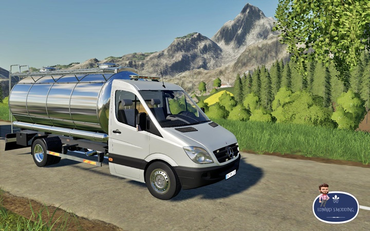 Photo of FS19 – Mercedes Sprinter Tanker