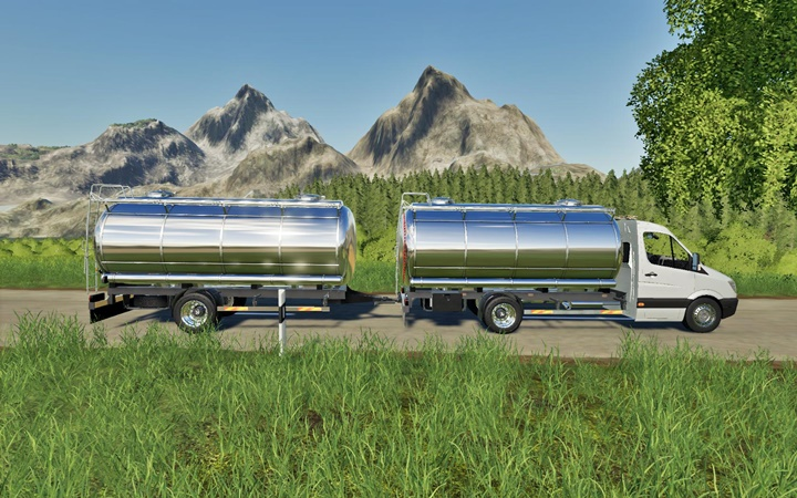Photo of FS19 – Mercedes Tanker Modu