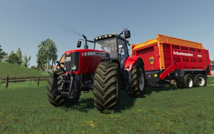 Photo of FS19 – Massey Ferguson 7400 Traktör Modu