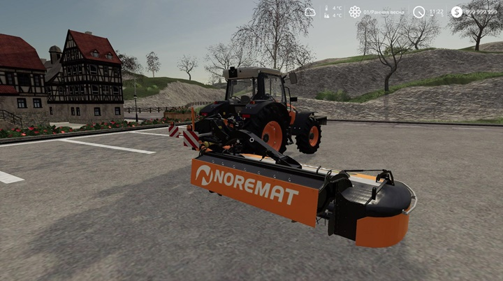 Photo of FS19 – Noremat Optima M57T Ot Biçme Makinası