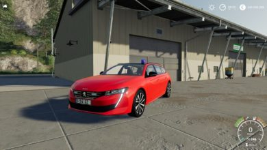 Photo of FS19 – Peugeot 508 SW 2019 Kripo V1.2