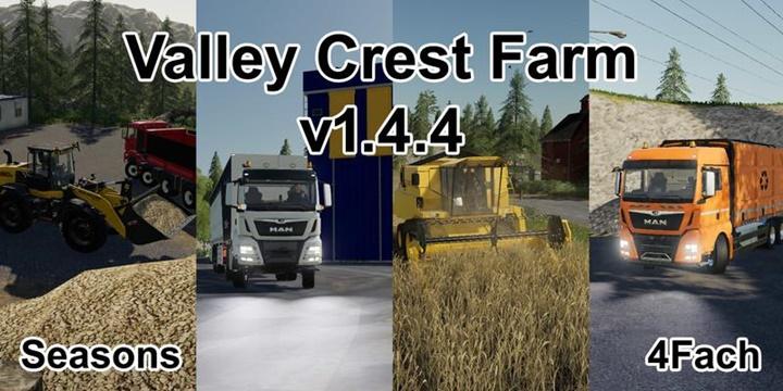 Photo of FS19 – Valley Crest 4x Çiftlik Haritası V1.4.4