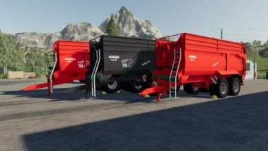 Photo of FS10 – Krampe Bandit 750 Modifiyeli Römork