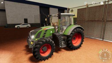 Photo of FS19 – Fendt 700 Vario Traktör