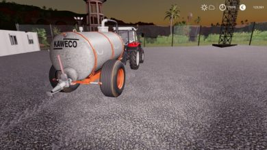 Photo of FS19 – Kaweco 6000L Tanker Modu