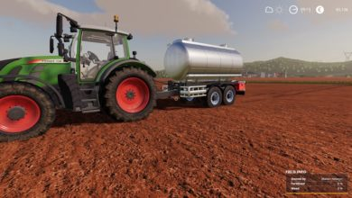Photo of FS19 – Lizard MKS 8 DB Tanker Yaması