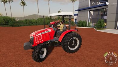 Photo of FS19 – Massey Ferguson 4200 Traktör V2