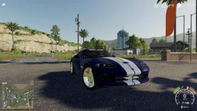 Photo of FS19 – Dodge Viper Gts Araba Modu V1.0.1.0