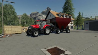Photo of FS19 – Gravity Vagon Römork V1.1