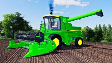Photo of FS19 – John Deere 4420 – 8820 Turbo / Titan II Biçerdöver Modu