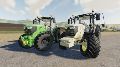 Photo of FS19 – John Deere 6R Serisi V1.1