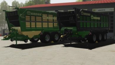 Photo of FS19 – Krone ZX 560 Römork V1.0.0.1
