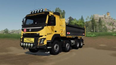 Photo of FS19 – Volvo Fmx 8×4 Damperli Kamyon Modu
