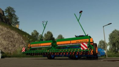 Photo of FS19 – Amazone D8 60 Mibzer Modu