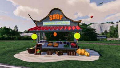 Photo of FS19 – Yerleştirilebilir Bakkal Dükkanı