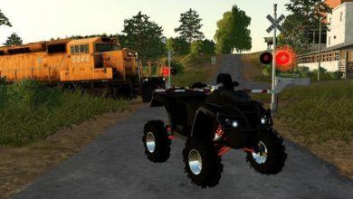 Photo of FS19 – Canam Outlander 1000 Xp Xmr ATV Modu