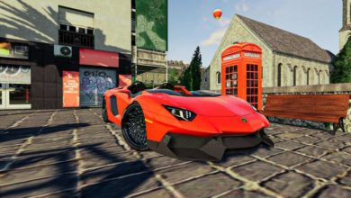 Photo of FS19 – Lamborghini Aventador J Araba Yaması V1.1