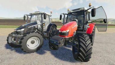 Photo of FS19 – Massey-Ferguson 5700S Traktör V1.1