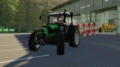 Photo of FS19 – Deutz Fahr Agrofarm 430 Traktör