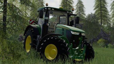 Photo of FS19 – John Deere 7R Traktör