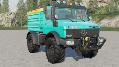 Photo of FS19 – Mercedes-Benz Unimog U1000 Kamyon Modu V2