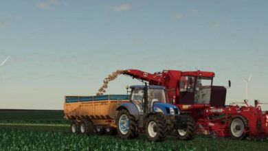 Photo of FS19 – Rolland Turbo 160 Römork V1.0.1.0