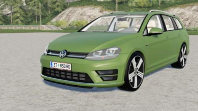 Photo of FS19 – Volkswagen Golf R Variant (Typ 5G) 2015 Model Araba Modu V2