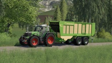 Photo of FS19 – Krone Zx 470 Gd Römork V1.1