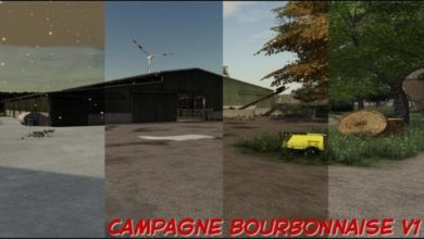 Photo of FS19 – La Campagne Bourbonnaise Haritası