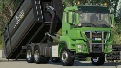 Photo of FS19 – Man Tgs 26.500 Itrunner Kamyon Modu V1.2