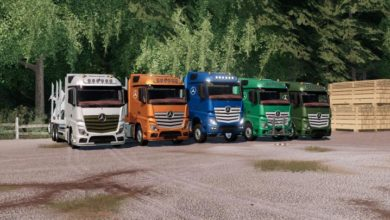 Photo of FS19 – Mercedes-Benz Actros Forstaufbau Tır Modu