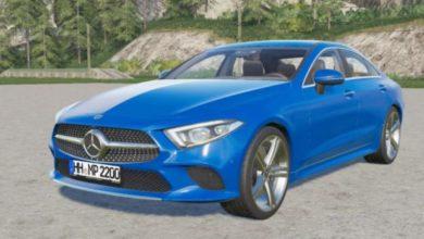 Photo of FS19 – Mercedes-Benz Cls 450 (C257) 2018 Model Araba Yaması V2
