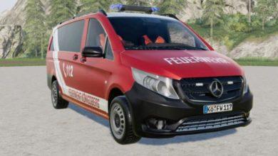 Photo of FS19 – Mercedes-Benz Vito Panelvan (W447) İtfaiye Aracı V2