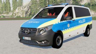 Photo of FS19 – Mercedes-Benz Vito (W447) Polis Arabası V2