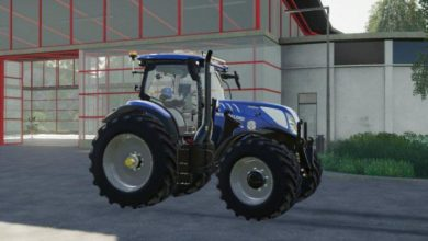 Photo of FS19 – New Holland T7 Swb Modifiyeli Traktör
