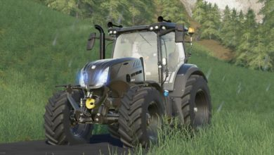 Photo of FS19 – New Holland Night Eagle Traktör V1.1.1