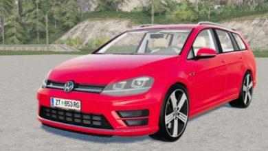 Photo of FS19 – Volkswagen Golf R Variant (Typ 5G) 2015 Model Araba Modu V3