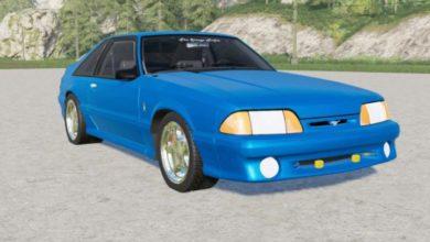 Photo of FS19 – Ford Mustang Svt Cobra 1993 Model Araba Modu