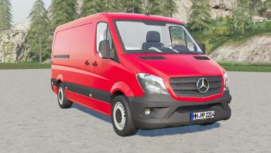Photo of FS19 – Mercedes-Benz Sprinter 313 Cdi (Br.906) 2013 Model