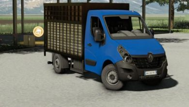 Photo of FS19 – Renault Master Betaillere De 2018 Model Hayvan Nakil Aracı