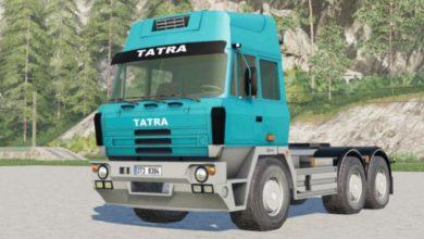 Photo of FS19 – Tatra T815 6X4 1997 Model Tır Yaması