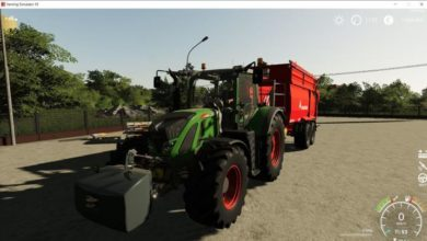 Photo of FS19 – Fendt 716-724 Vario Scr Traktör