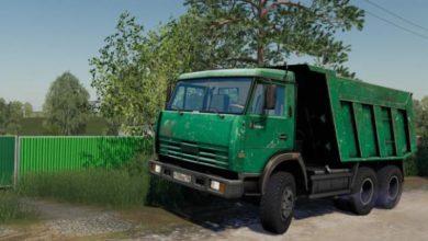 Photo of FS19 – Kamaz 65115 Yeşil Kamyon Modu V1.0.0.1